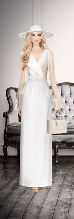 Fasion, Women's Fashion, Maxi Outfits, Covet Fashion Games, Closets, Style Icons, White Dress, Footwear, Beige