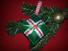 Felt, Päckchen Anhänger für den Weihnachtsbaum