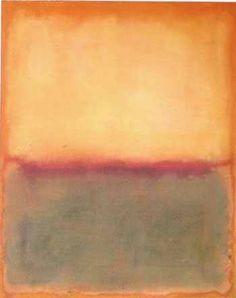 Light Over Deep - Mark Rothko 1965. American 1903-1970