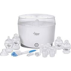 Buy Tommee Tippee Closer to Nature Electric Steriliser Kit at Argos.co.uk, visit Argos.co.uk to shop online for Sterilisers and cleaning accessories