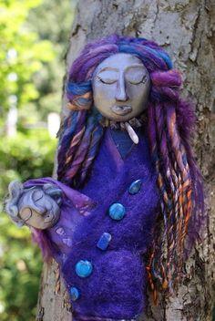 Mother & Child  Spirit Doll by AlderandBirch on Etsy