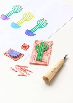 7 projetos DIY de cactus - Sernaiotto