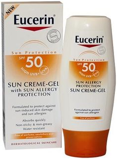 Eucerin Sun Creme Gel Sun Allergy Protection Eucerin Sun Creme Gel Sun Allergy Protection SPF50 150ml: Express Chemist offer fast delivery and friendly, reliable service. Buy Eucerin Sun Creme Gel Sun Allergy Protection SPF50 150ml online from E http://www.MightGet.com/january-2017-11/eucerin-sun-creme-gel-sun-allergy-protection.asp