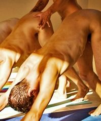 Naked Nude Men Joga 18