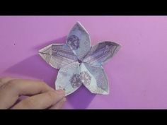 Origami How do I create an origami flower? Money Tutorial How to make a . Origami How do I c Origami Yoda, Origami Xmas Tree, Origami Pokemon, Origami Tie, Dragon Origami, Chat Origami, Origami Turtle, Origami Videos, Origami Envelope