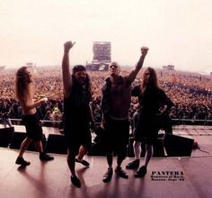 Pantera: Pantera was an American heavy metal band from Arlington, Texas. They were formed in 1981 by the Abbott brothers, Vinnie Paul and Dimebag Darrell, along with vocalist Terry Glaze and bassist Rex Brown, who joined later that year.