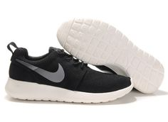 best sneakers a90a7 4e3ed Running shoes Nike Roshe Run Black, Running Shoes For Men, Mesh, Gray,