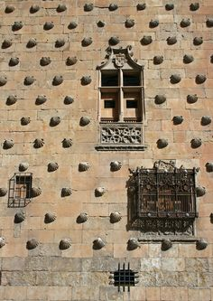 Salamanca's Casa de Conchas, a building whose only real claim to fame is that it is covered in shells.