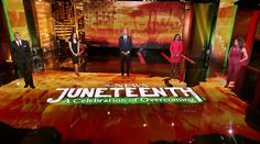 """It was an honor to work on ABC News's first special focused on this very significant day of remembrance and reflection. It's entitled """"Juneteenth: A Celebration of Overcoming"""".  The virtual set design was created along with Christa Garumbo & James Holbrook, with creative direction by Seth Easter & Hal Aronow-Thiel. Brandon Bell, Screen Design, Live Events, Abc News, Design Development, Set Design, Over The Years, Reflection, Celebration"""