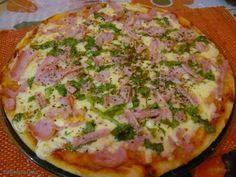 Receita de Pizza de batata