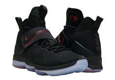 82fee9bb399 Nike LeBron 14 Bred Black Black-University Red. Eric Towe · Nike Basketball  Shoes