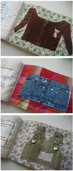 Quiet book - 150 and more ideas, tutorials and patterns - Lapappadolce Sweet porridge…