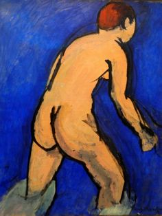 Matisse, Felle kleuren en kleurcontrasten, ruwe penseelvoering, vereenvoudigde vormen, en gedurfde vertekeningen. Matisse, de meest begaafde en invloedrijke, was het middelpunt van de groep schilders die fauvisten, 'wilde dieren', werd genoemd.