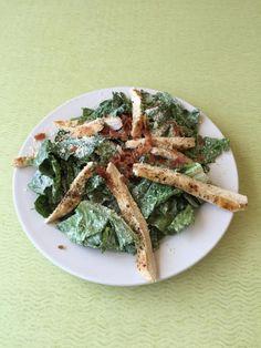 The Chicken Ceasar Salad Chicken Ceasar Salad, House Restaurant, Dinner Menu, Asparagus, Lunch, Vegetables, Breakfast, Food, Chicken Caesar Salad