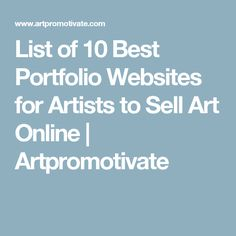 Websites for Artists by FASO - Your Professional Artist Website ...