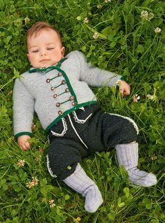 Lana Grossa BABY-HOSE Cool Wool Big/Meilenweit 50 - FILATI Trachten No. 6 - Modell 14 | FILATI.cc WebShop