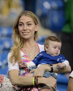Eleonora Abbagnato con la figlia Julia agli Europei 2012