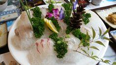 모듬 회(농어,광어,우럭) Korea food sashimi(perch,halibut,rockfish)