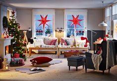 Den Weihnachtstisch festlich decken