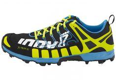 Buty inov-8 x-talon 212 czarno - jaskrawo żółto - niebieskie   Lekkie za razem nad przeciętnie wytrzymałe buty terenowe dostosowane do wąskiej bądź szerokiej stopy, na biegi po szutrach, kamieniach i luźnych nawierzchniach.