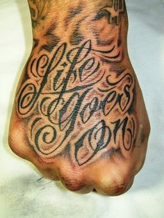 150+ Perfect Hand Tattoos for Men And Women cool  Check more at http://fabulousdesign.net/hand-tattoos/