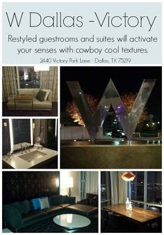Looking for a hotel in #Dallas? The W Hotel recently went under a HUGE renovation and looks amazing.