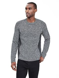 278b16f7f85 Heritage Marled Cable-Knit Pullover