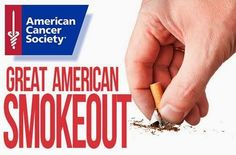 Great American Smokeout is Thursday, November 20, 2014