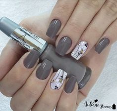 Nail Designs are continually changing, but one thing that doesn't change is the effect a good manicure can have on Fabulous Nails, Gorgeous Nails, Pretty Nails, Classy Nails, Fancy Nails, Acrylic Nail Designs, Acrylic Nails, Gel Nail Art, Nail Polish