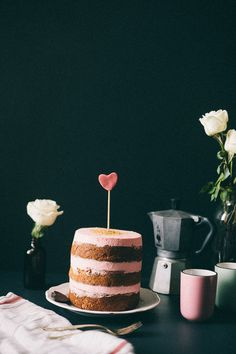 italian almond cake for valentine's day | my name is yeh