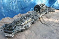 leggo space ships   Giant Lego Colony Spaceship is Spectacular   Walyou