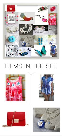 """""""Red, White, and Blue"""" by jewelrybyirina ❤ liked on Polyvore featuring art, integrityTT and SpecialT"""
