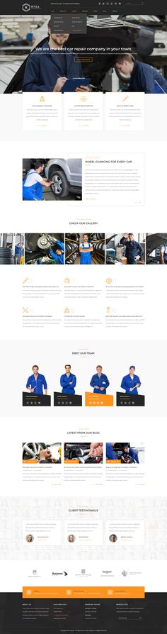 Scyla is a PSD template for car repair, car painting, car washing and a lot of other car related services. It is a highly suitable template for car garages and workshops that offer car repairing services. It has purpose oriented design, responsive layout and special features like appointment forms, services, landing pages, pricing tables and other pages.