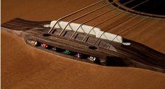 Pinless Takamine Bridge -- LOVE LOVE LOVE