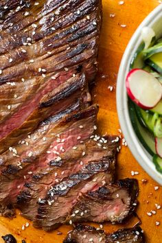 NYT Cooking: The marinade on this steak is based on a classic Vietnamese dipping sauce called nuoc cham. Since it consists mostly of pantry staples