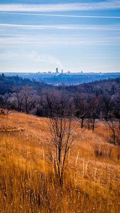 Neale Woods view of Omaha. Photo by Brad Simonsen