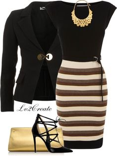 """""""Black & Gold 1"""" by lv2create ❤ liked on Polyvore"""