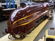 Duchess of Hamilton 8 steam locomotive