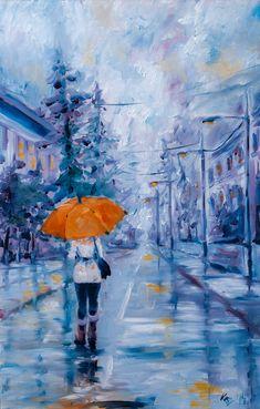 ARTFINDER: Walk in rain by Kovács Anna Brigitta -