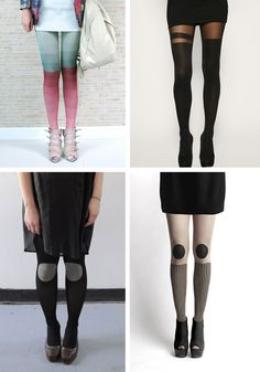 tights. i especially like the ones in the top right corner!