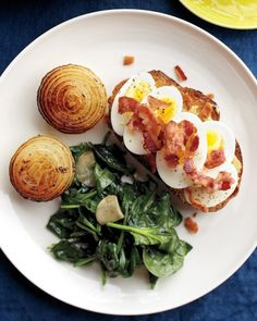 Bacon. Eggs. 16 Recipes Starring Everyone's Favorite Breakfast Duo - See, Mom? I'm eating my greens!