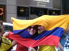 Watching the World Cup with Colombia fans in New York City