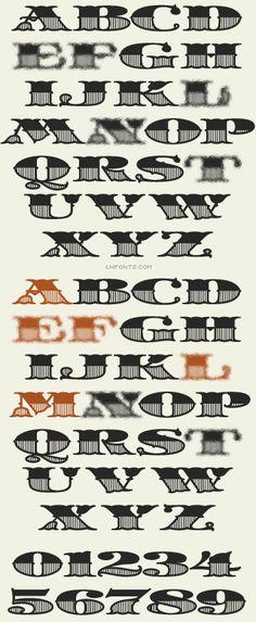 Letterhead Fonts / State Fair / Vintage Fonts