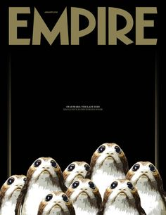 Porgs Ahoy In This New Empire Cover For Star Wars: The Last Jedi