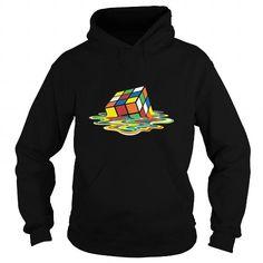 Melting Cube Men's Premium T Shirt