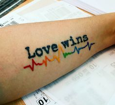 19 Rainbow tattoos to try to celebrate Pride month pride tattoos 19 Rainbow tattoo ideas for Pride month pride tattoos pride tattoos Gay Pride Tattoos, Gay Tattoo, Love Tattoos, Body Art Tattoos, Anchor Tattoos, Bird Tattoos, Feather Tattoos, Tattoos That Mean Something, Rainbow Tattoos