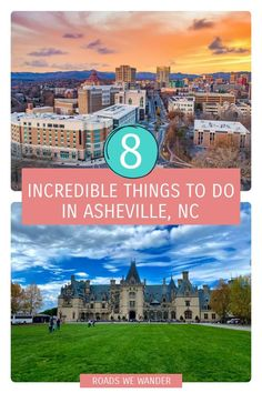 Here are my top 8 things to do in Asheville, NC! These activities are perfect for any getaway to Asheville! Visit Usa, Visit Canada, Winter Travel, Summer Travel, Canada Travel, Travel Usa, Road Trip Adventure, Us Travel Destinations, Asheville Nc