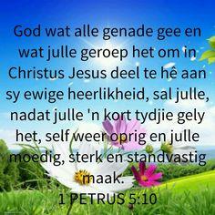 God is liefde Inspirational Qoutes, Gods Promises, Afrikaans, Prayers, Lisa, Motivation, Moving Quotes, Inspiration Quotes, Motivating Quotes