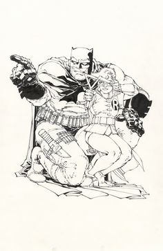 Frank Miller #The Dark Knight Returns