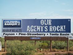 Our billboard in Rye, Az.